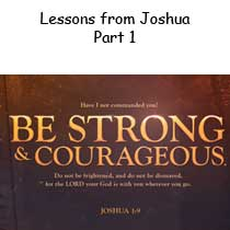 Lessons from Joshua