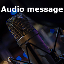 Audio message