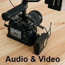 Audio and Video recordings